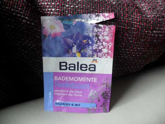 """Balea Bademomente """"Seelenzart"""" Wildrose & Iris"""