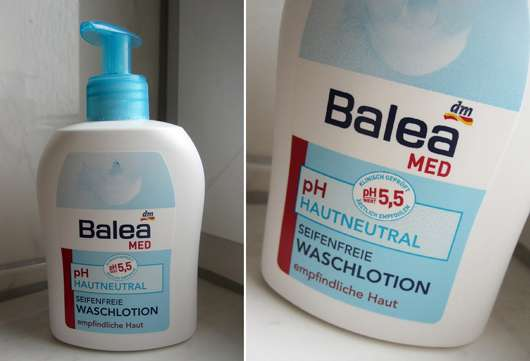 Balea Med ph Hautneutral Seifenfreie Waschlotion