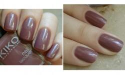 Produktbild zu KIKO nail lacquer – Farbe: 318 Malva Chiaro