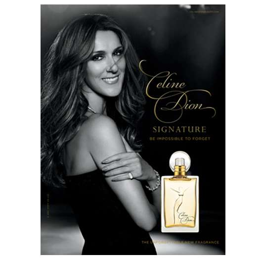 Celine Dion Signature – Be Impossible To Forget