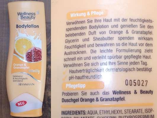 Wellness & Beauty Bodylotion Orange & Granatapfel