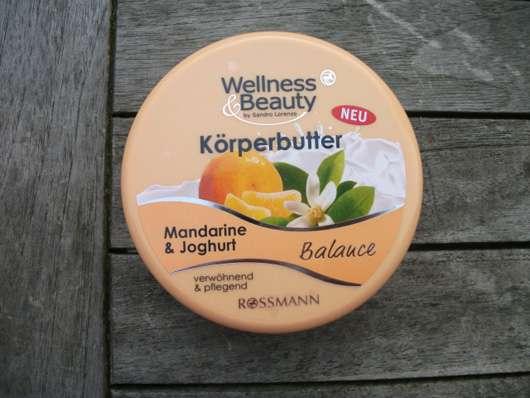 """Wellness & Beauty Körperbutter """"Mandarine & Joghurt"""""""