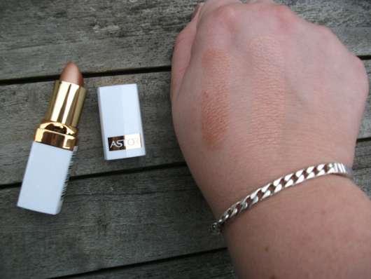 """Astor Soft Sensation Vitamin & Collagen Lipstick, Farbe: 600 Golden Beige (""""Nude Collection"""")"""