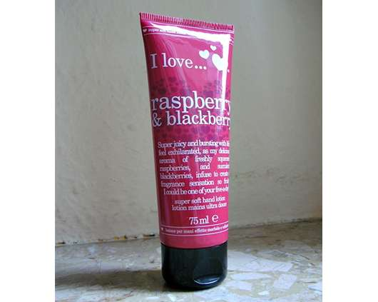I love… raspberry & blackberry Hand Lotion