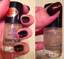 Produktbild zu essence re-mix your style DANCE top coat – Farbe: 01 waking up in vegas (LE)