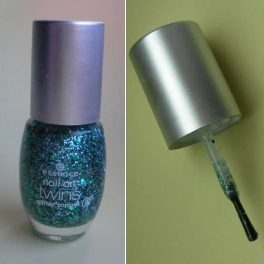 essence nail art twins glitter topper, Farbe: 06 Edward