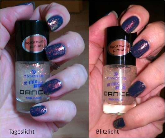 essence remix your style DANCE top coat, Farbe: waking up in las vegas (Limited Edition)