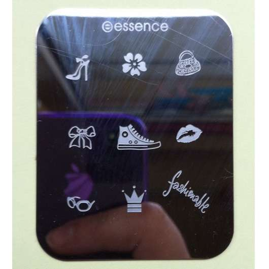 "essence nail art Stampingschablone ""Fashion"""