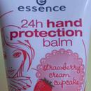 essence 24h protection balm strawberry cream cupcake (Winter Edition)