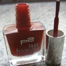 p2 last forever nail polish, Farbe: 052 goodnight kiss