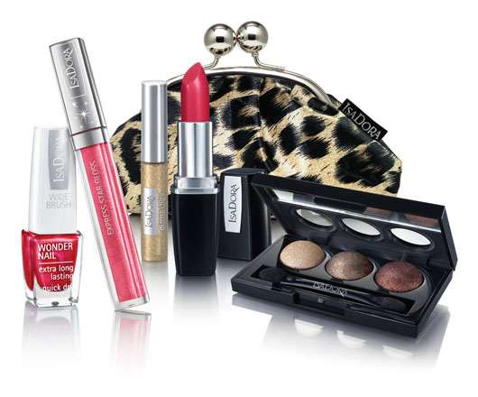 """IsaDora Holiday Make-up 2011 """"Red Rush"""""""