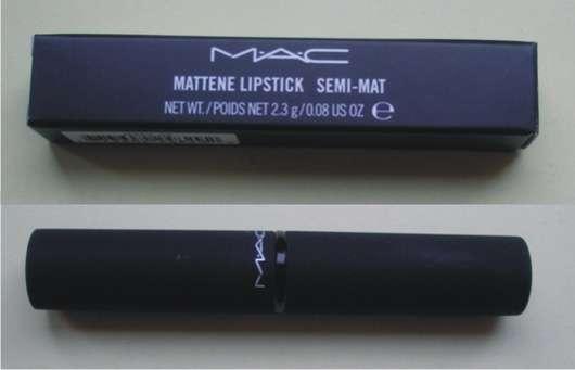 """M.A.C. Mattene Lipstick Semi-Mat, Farbe: Deliciously Forbidden (""""Posh Paradise"""" LE)"""