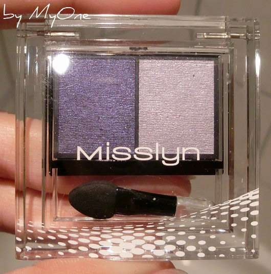 """Misslyn Duo Lidschatten, Farbe: 154 Jeans Couture (""""Blue Notes"""" LE)"""