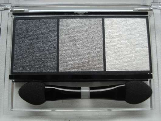 Misslyn High Shine Trio Eyeshadow, Farbe: 03 classical highlights (Blue Notes Collection)