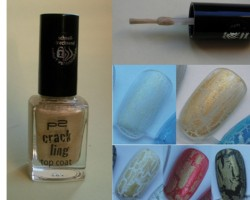 Produktbild zu p2 cosmetics crackling top coat – Farbe: 030 golden rush