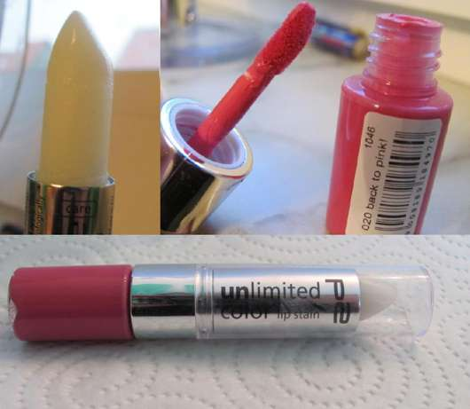 p2 unlimited color lip stain, Farbe: 020 back to pink!