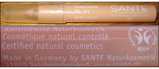 Sante Naturkosmetik Coverstick No. 01