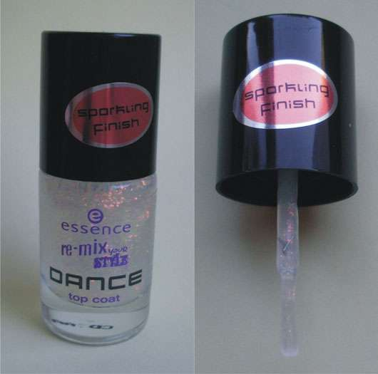 essence re-mix your style DANCE top coat, Farbe: 01 waking up in vegas (Limited Edition)