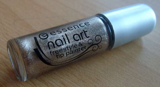 essence nail art freestyle & tip painter, Farbe: 12 metallic champagne