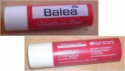 Produktbild zu Balea Lippenpflegestift Vanille und Zimt
