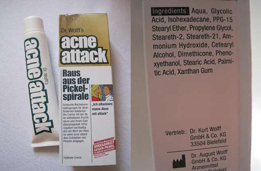 Dr. Wolff's acne attack