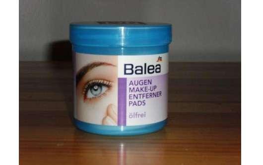 Balea Augen Make-Up Entferner Pads ölfrei