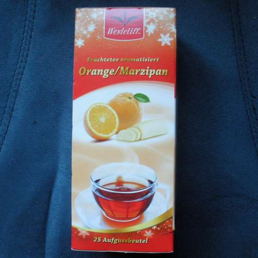 """Westcliff Früchtetee aromatisiert """"Orange/Marzipan"""""""