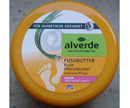 alverde Fussbutter Pinie & Shoreabutter