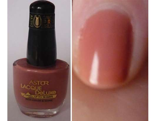 Astor Lacque Deluxe Nagellack, Farbe: 829 Hibiscus (Nude Collection)