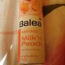 Balea Rasiergel Milk 'n' Peach
