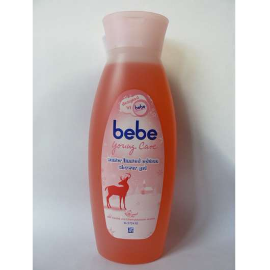 bebe Young Care winter limited edition shower gel