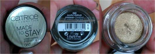 """Catrice Made To Stay Eyeshadow, Farbe: 060 """"Jennifer's Goldrush"""""""