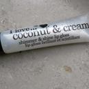 I love… coconut & cream shimmer & shine lip gloss