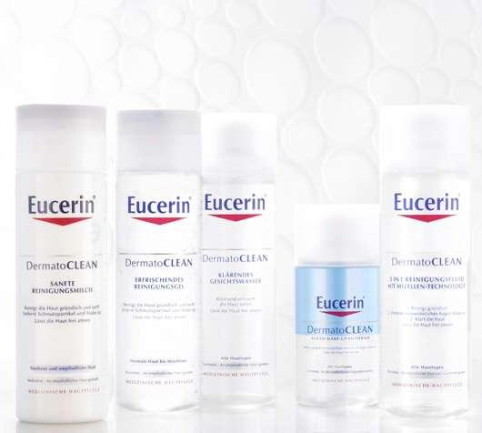 10 x 1 Eucerin DermatoCLEAN Reinigungsset zu gewinnen