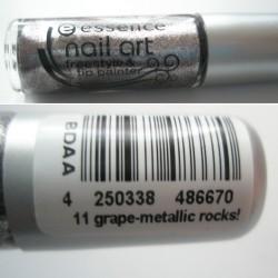 Produktbild zu essence nail art freestyle & tip painter – Farbe: 11 grape-metallic rocks