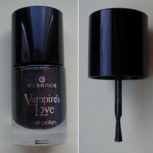 essence Vampire's Love nail polish, Farbe: 01 gold old buffy (Limited Edition)