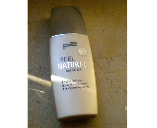 p2 feel natural make up, Farbe: 010 natural rose