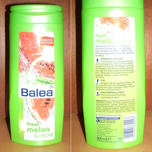 Balea Fresh Melon Dusche (Limited Edition)