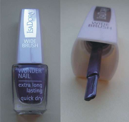 IsaDora Wonder Nail Nagellack, Farbe: 722 Metal Mauve (Trend Nails Collection Herbst/Winter 2011)