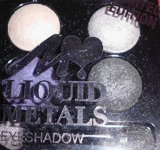Manhattan Liquid Metals Eyeshadow Quattro, Farbe: Midnight Metal (Limited Edition)
