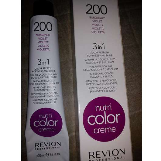 Test Tönung Revlon Professional Nutri Color Creme 3in1