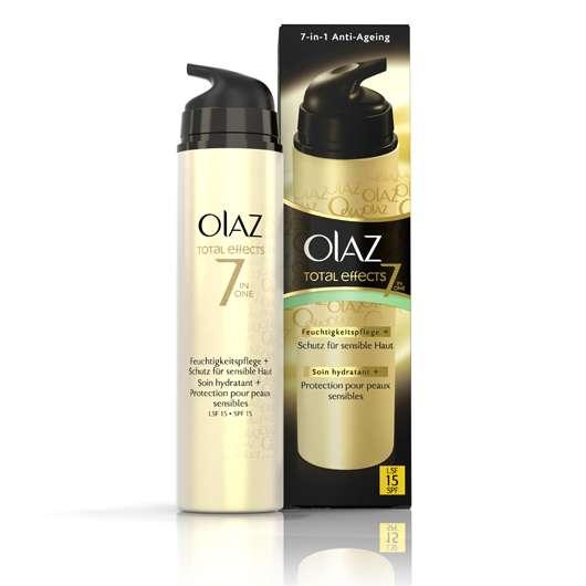 Olaz Total Effects Feuchtigkeitspflege + Schutz für sensible Haut