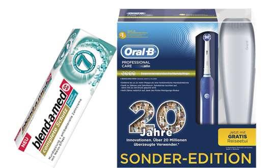 3 x 1 Oral-B & blend-a-med Mundpflegepaket zu gewinnen