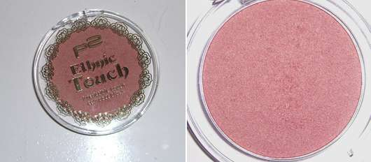 p2 ethnic touch irresistable touch compact blush, Farbe: 010 precious red (LE)