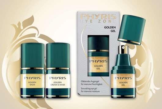 PHYRIS – Goldpflege für strahlend schöne Augen