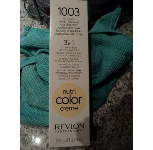 Revlon Professional Nutri Color Creme 3in1 Tönungskur, Farbe: 1003 Hellgold