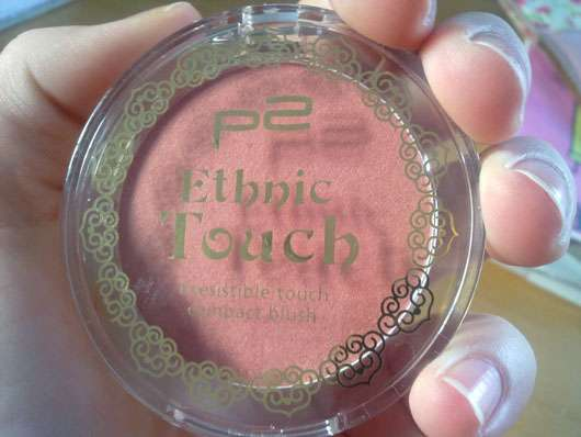 """p2 irresistible touch compact blush, Farbe:010 precious red (""""Ethnic Touch"""" LE)"""