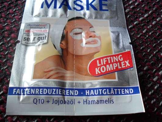 Die Masken für die Person für obwisschej die Häute