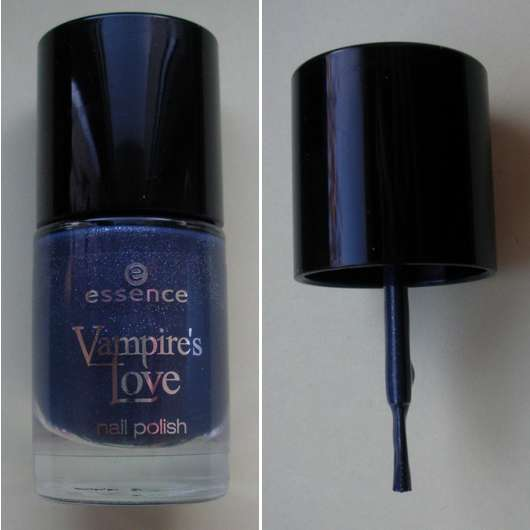 essence Vampire's Love nail polish, Farbe: 02 into the dark (Limited Edition)