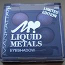 Manhattan Loves Liquid Metals Eyeshadow, Farbe: Midnight Metal (LE)